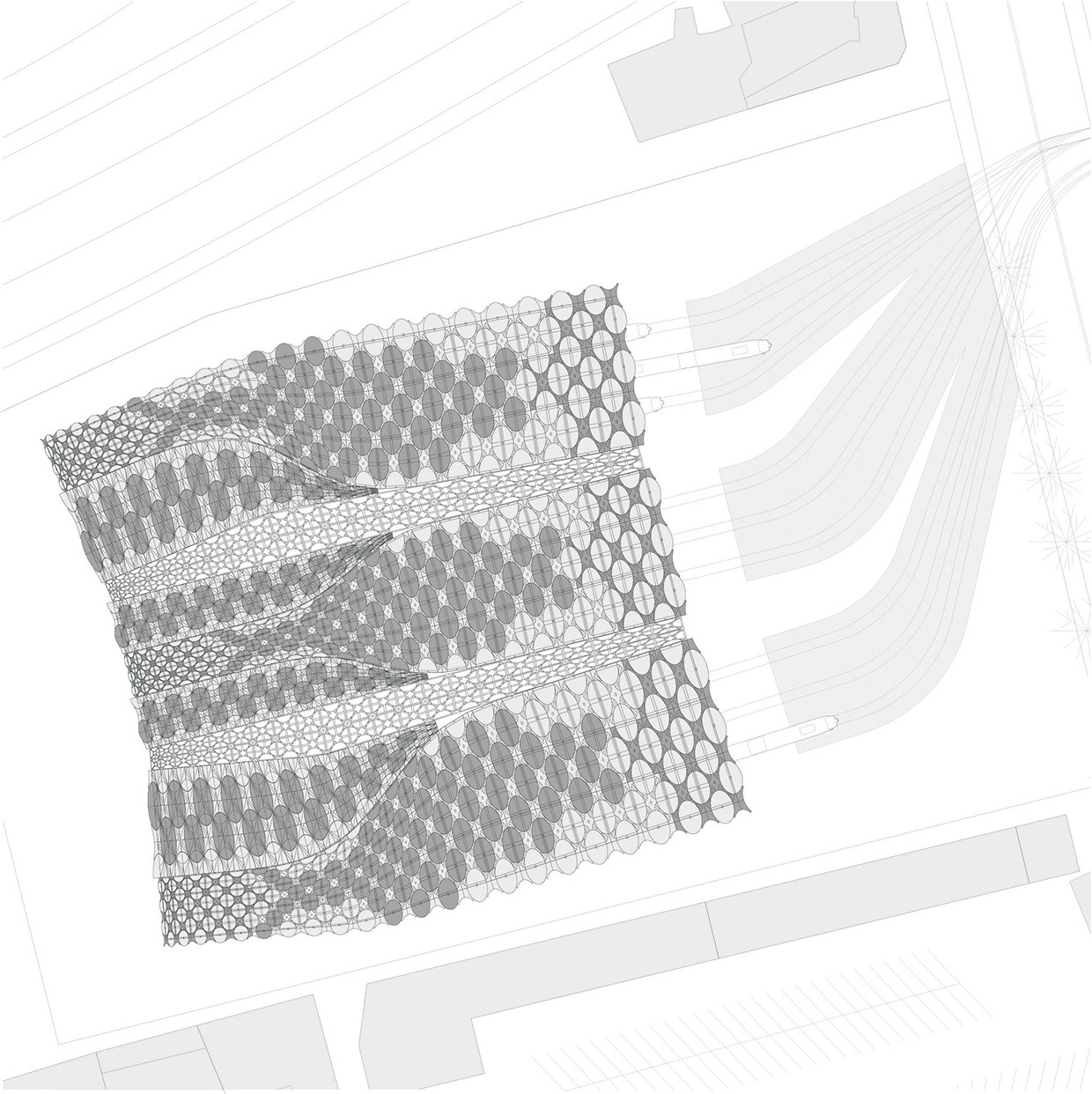 red mark roof plan